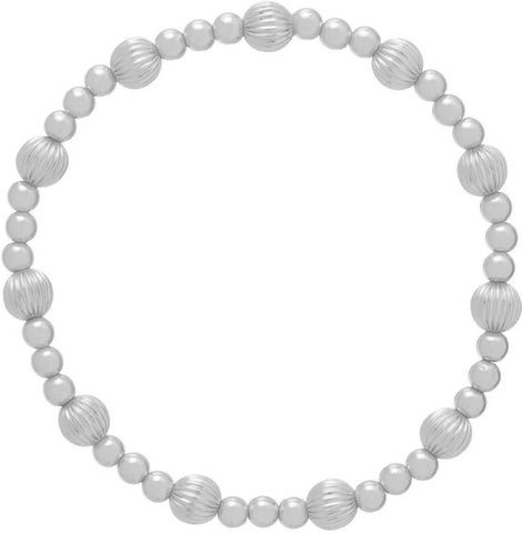 Dignity Sincerity Pattern 6mm Bead Bracelet