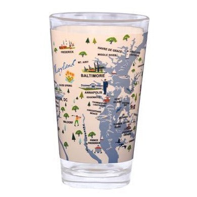 Bay Dreams Pint Glass