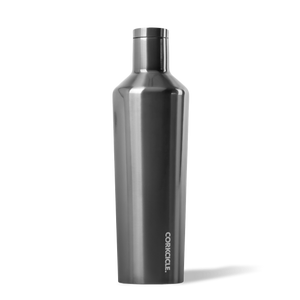 Metallic Canteen in Gunmetal