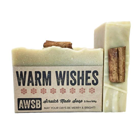 Holiday Bar Soap - Warm Wishes