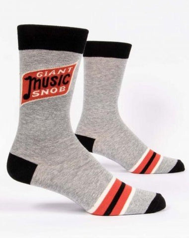 Giant Music Snob Crew Socks