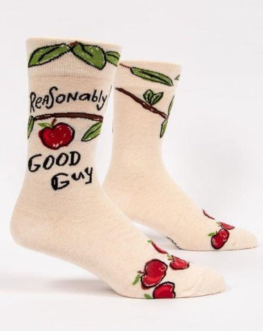 Reasonably Good Guy Crew Socks