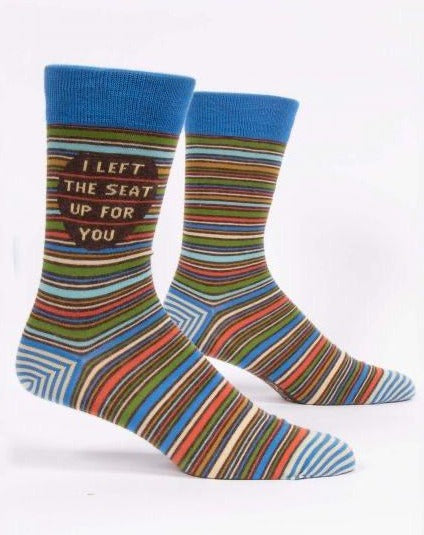 I Left The Seat Up For You Crew Socks