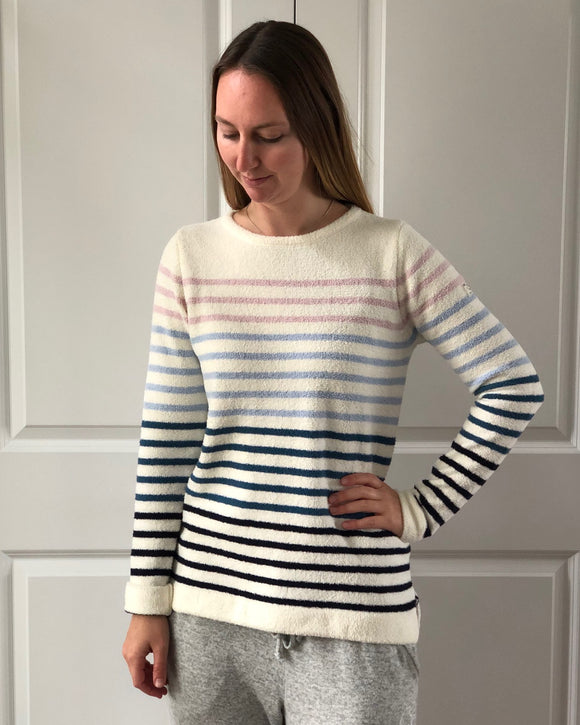 Pastel Seaport Roll Neck Sweater