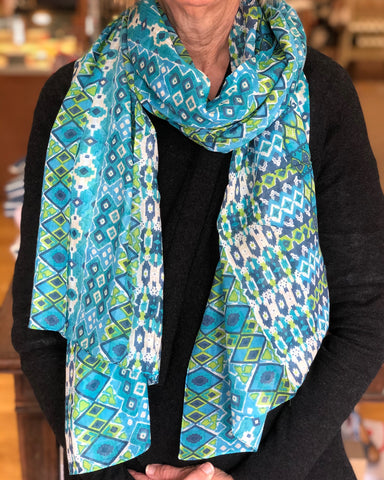 Indo Print Scarf