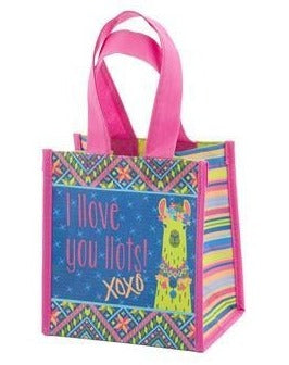 Llove You Llots Llama Small Gift Bag