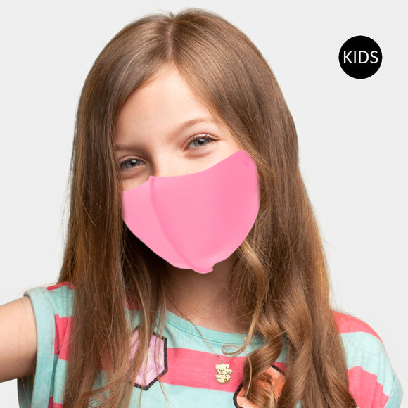 Kids Pink Face Mask