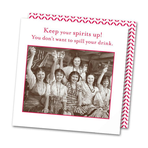 Keep Your Spirits Up! Napkins