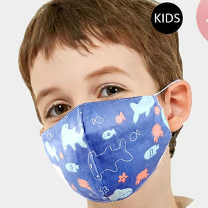 Kids Sealife Face Mask