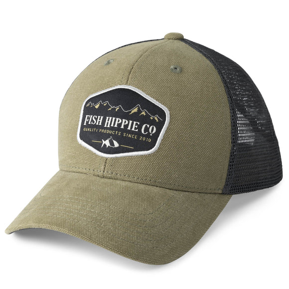 Elevation Trucker in Sage