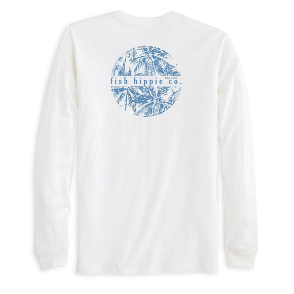 Stranded Limited Edition Long Sleeve Tee in White