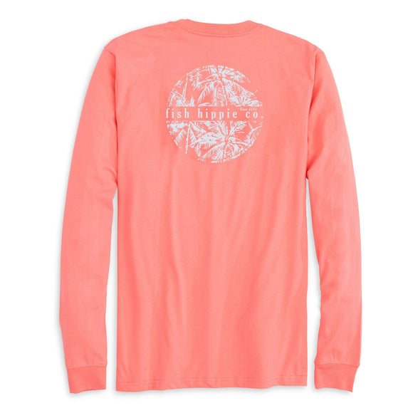 Stranded Limited Edition Long Sleeve Tee in Coral