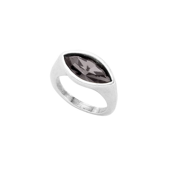Silver Pop Eye Ring
