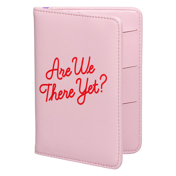 Are We There Yet? Passport Cover