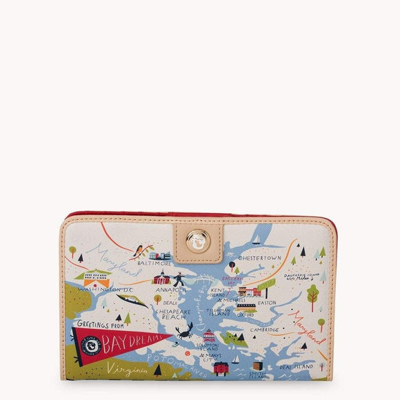 Bay Dreams Snap Wallet