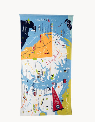 Bay Dreams Beach Towel