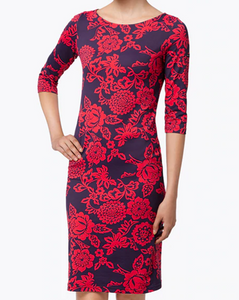 Floral Propriano II Form-Fitting Imprim Dress