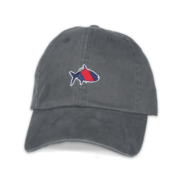 Fish Hippie Fall Sport Cap in Dark Gray