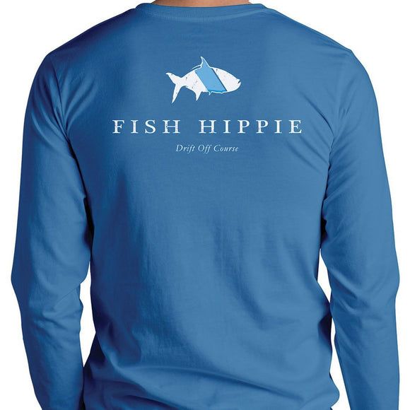 Original Tarpon Long Sleeve T-Shirt in Slate