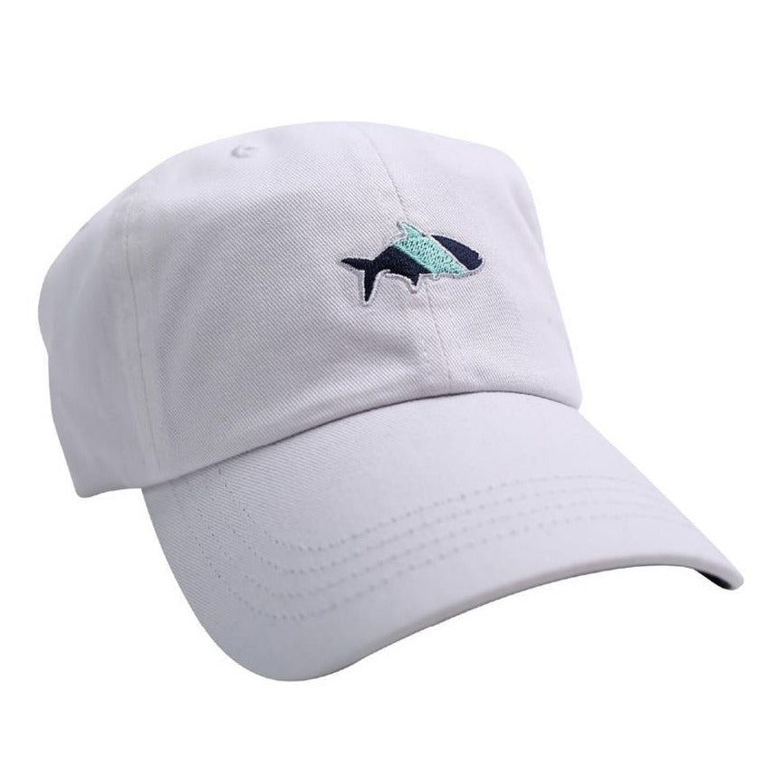 Fish Hippie Sport Cap in White