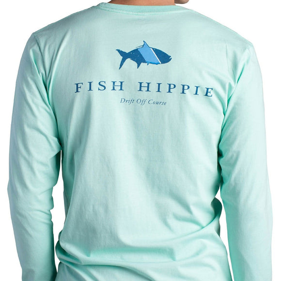 Original Tarpon Long Sleeve T-Shirt in Seagrass