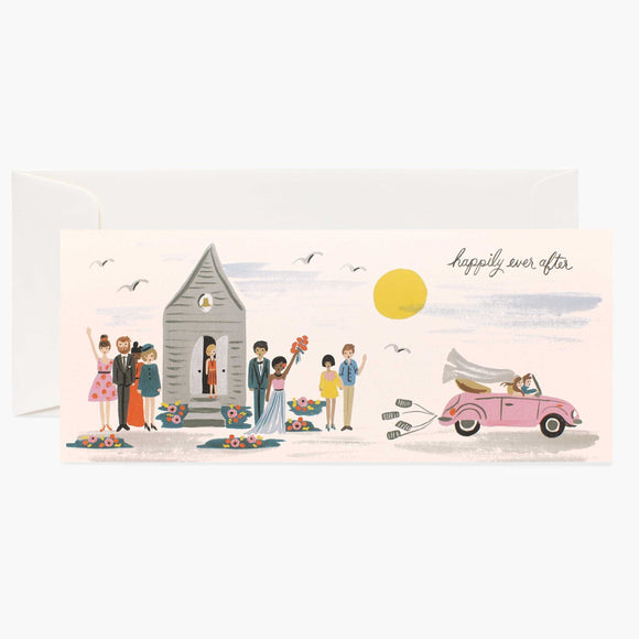 Wedding Happily Ever After Card