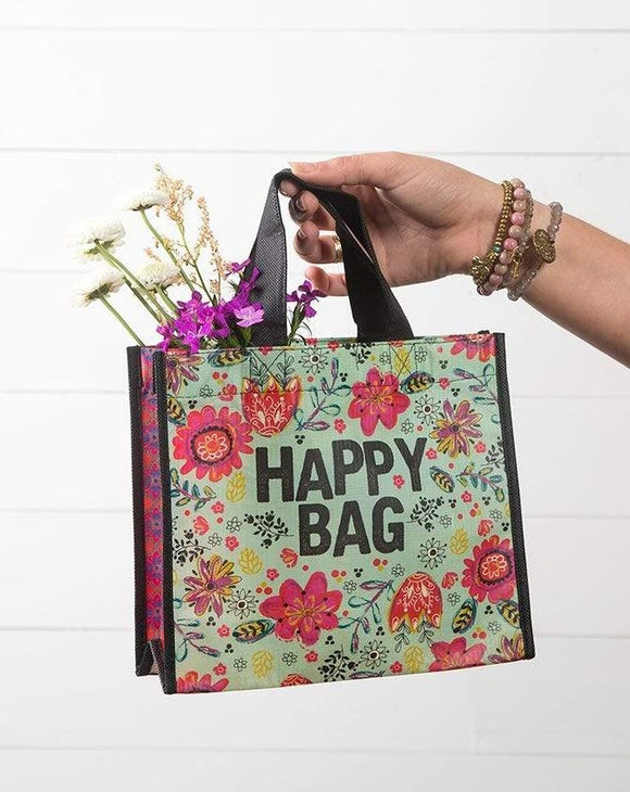 Teal Medium Happy Bag