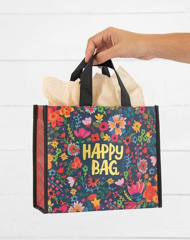 Navy Medium Happy Bag