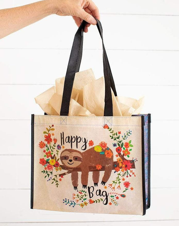 Large Sloth Happy Bag