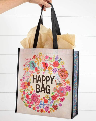 Floral XL Happy Bag