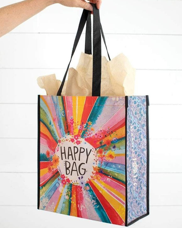 Extra Large Rainbow Happy Bag