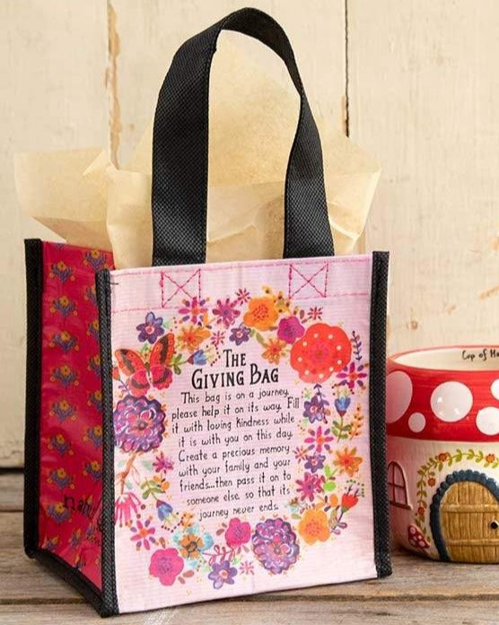Small Flower Giving Bag