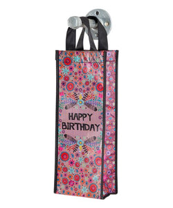 Happy Birthday Wine Gift Bag