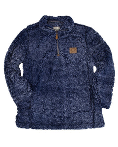 Navy Sherpa Shelly Cove