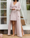 Faded Rose Duster Robe