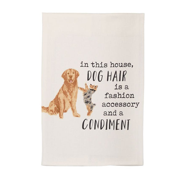 Dog Hair Dish Towel