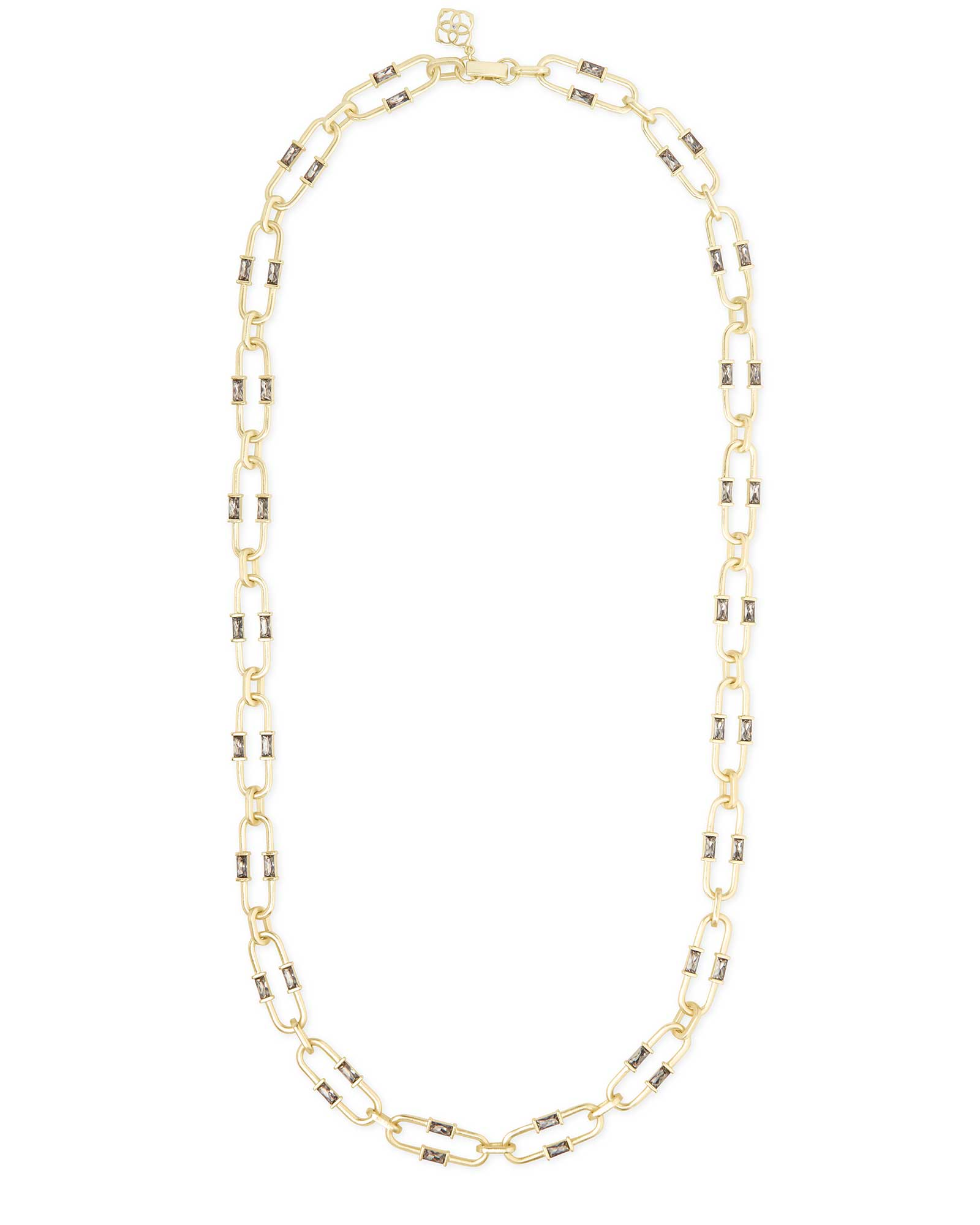 Gage Link Necklace In Gold
