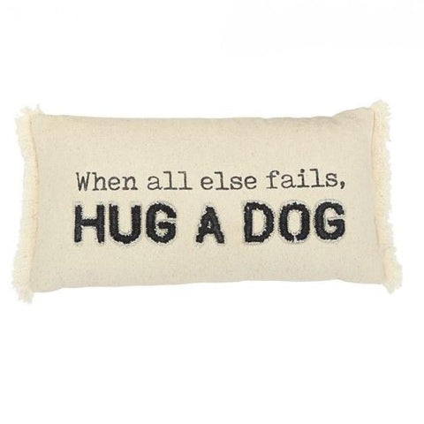Hug A Dog Pillow