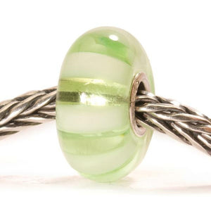 Light Green Stripe Bead