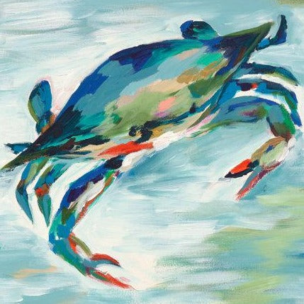 Maryland Blue Crab Print Kim Hovell