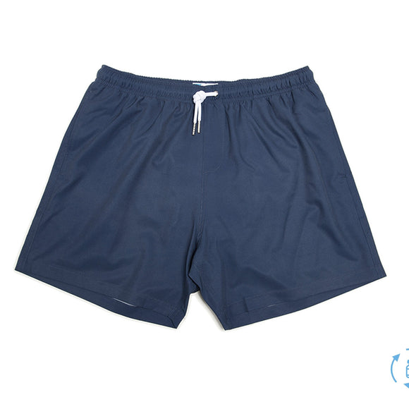 Navy Bermies Swim Shorts