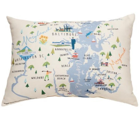 Bay Dreams Rectangle Pillow