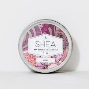 Rose Raw Organic Shea Butter