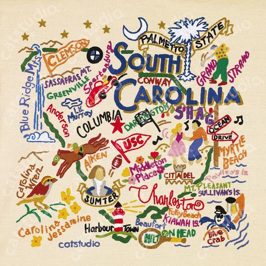 South Carolina Fine Art Print