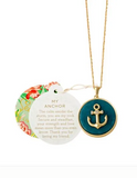 "Sea La Vie 18"" My Anchor Long Necklace"