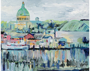 View of Naval Academy Print Kim Hovell