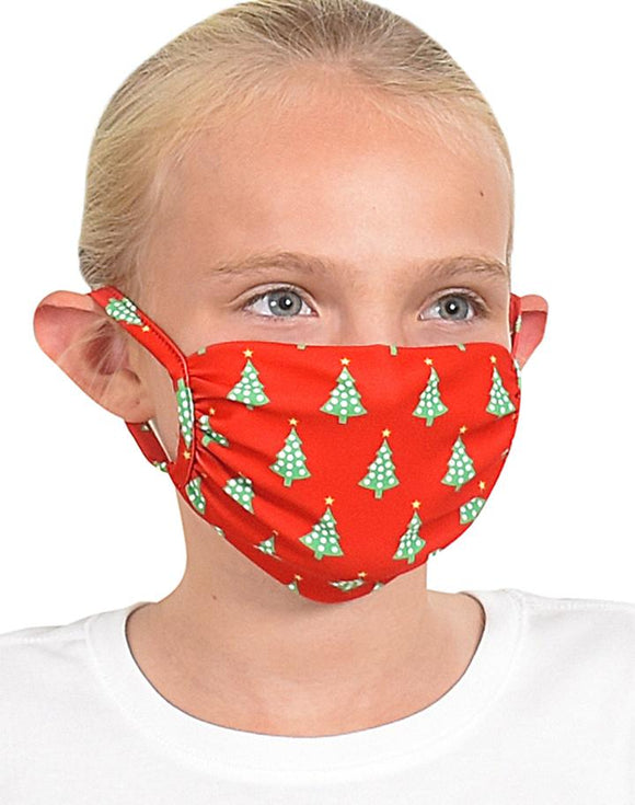 Kids Trees Face Mask