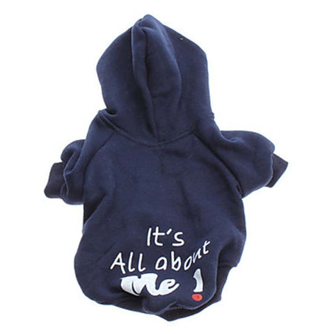 Cute Warm Clothing for Small Dogs Winter Hoody All About Me
