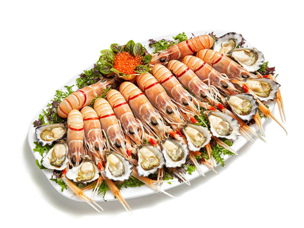 Seafood platters sydney cold seafood party platters for Canape catering sydney
