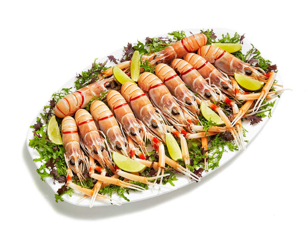 Products scampi for Canape catering sydney